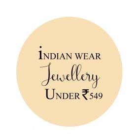 Indian wear Jewellery under Rs549