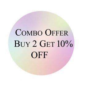 Combo offer Buy 2 Get 10%off